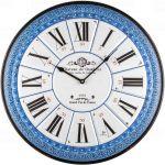 Designové nástěnné hodiny 21515 Lowell 55cm 171929