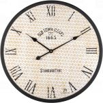 Designové nástěnné hodiny 21521 Lowell 60cm 171928