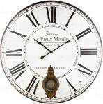 Designové nástěnné hodiny 21528 Lowell 58cm 171913