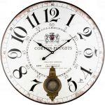 Designové nástěnné hodiny 21529 Lowell 58cm 171912