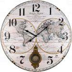 Designové nástěnné hodiny 21530 Lowell 58cm 171911