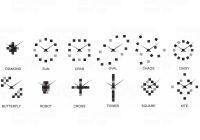 Designové nástěnné nalepovací hodiny Future Time FT3000MC Cubic multicolor 167214 Hodiny
