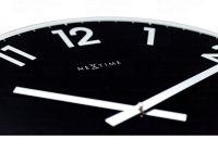 Designové nástěnné hodiny 8190zw Nextime Reflect 43cm 169470 Hodiny