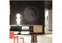 Designové nástěnné hodiny Nomon Bilbao L bílé 110cm 165908 Hodiny