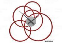 Designové hodiny 10-215 CalleaDesign Black Hole 59cm (více barevných verzí) Barva vínová červená-65 - RAL3003 166433 Hodiny