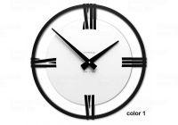 Designové hodiny 10-031 CalleaDesign Sirio 38cm (více barevných verzí) Barva caffe latte-14 - RAL1019 169175 Hodiny