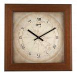 Designové nástěnné hodiny 03535 Lowell Prestige 43cm 172096