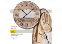 Designové nástěnné hodiny 21495 Lowell 60cm 169567 Lowell Italy Hodiny