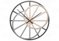 Designové hodiny 10-328n CalleaDesign Theresa 95cm (více dekorů dýhy) Dýha wenge - 89 169678 Hodiny