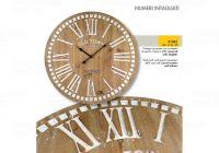 Designové nástěnné hodiny 21481 Lowell 60cm 169568 Lowell Italy Hodiny