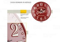 Designové nástěnné hodiny 21508 Lowell 40cm 169574 Lowell Italy Hodiny