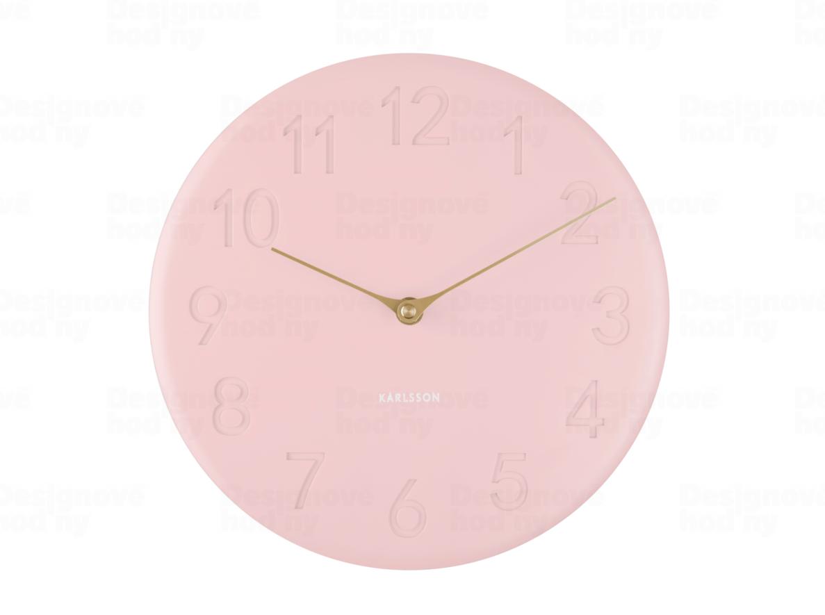 Designové nástěnné hodiny 5771PI Karlsson 25cm 172406 Hodiny
