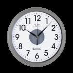 Rádiem řízené hodiny JVD šedé RH692.4 167047 Hodiny