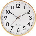 Klasické nástěnné hodiny s plynulým tichým chodem..01547 171562