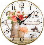 Designové nástěnné hodiny 14891 Lowell 34cm 173221