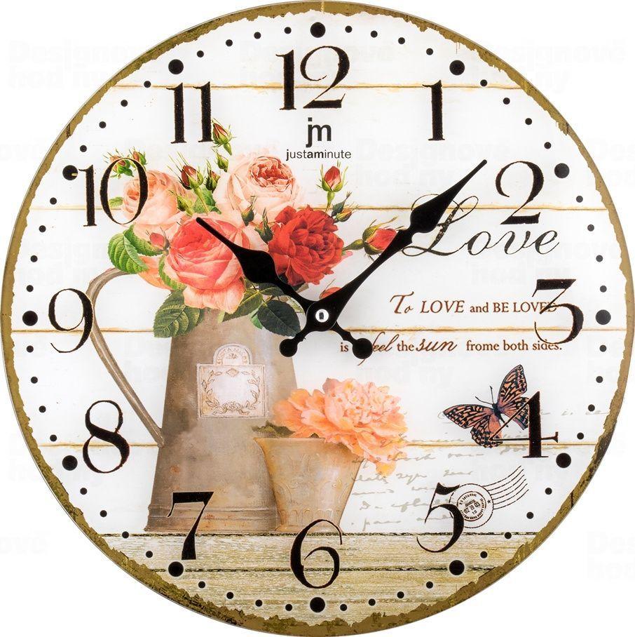 Designové nástěnné hodiny 14891 Lowell 34cm 173221 Lowell Italy Hodiny