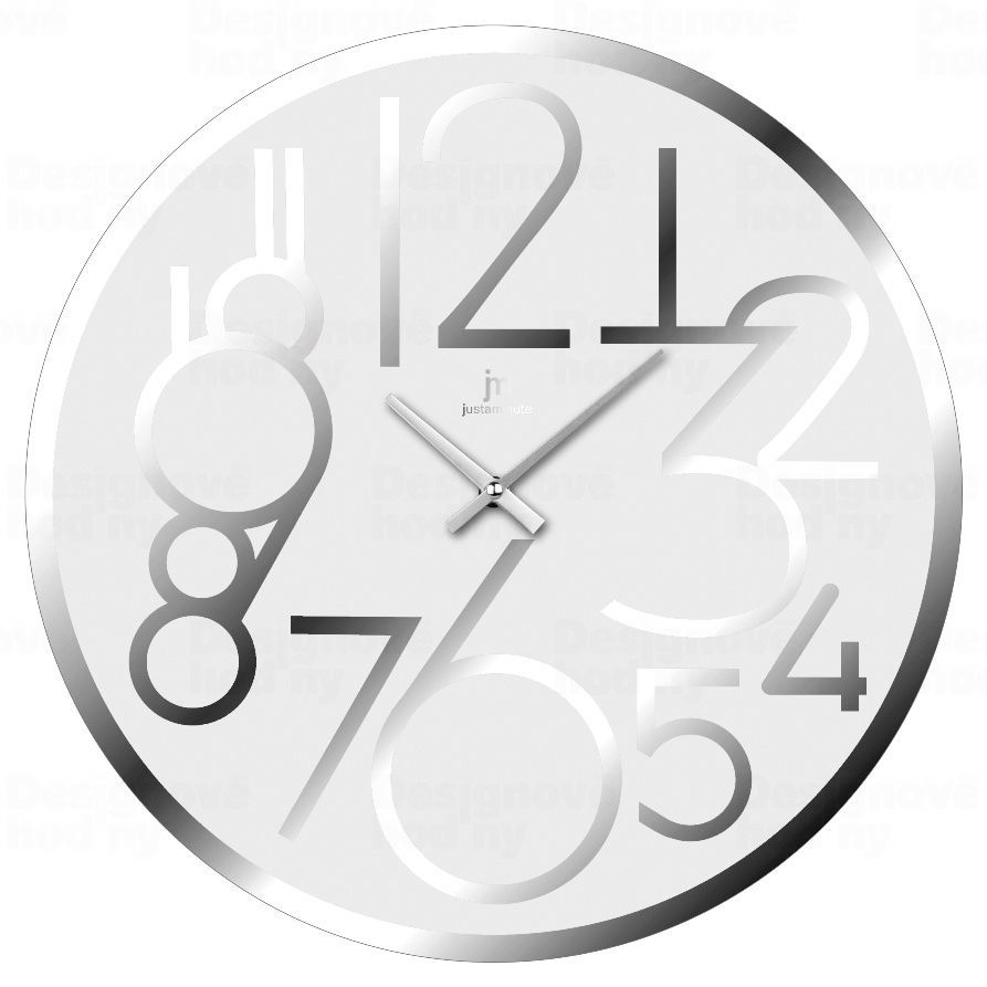Designové nástěnné hodiny 14892B Lowell 38cm 173220 Lowell Italy Hodiny