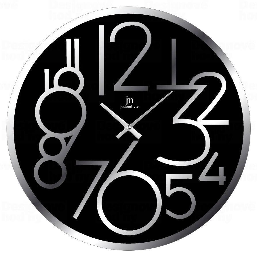 Designové nástěnné hodiny 14892N Lowell 38cm 173217 Lowell Italy Hodiny