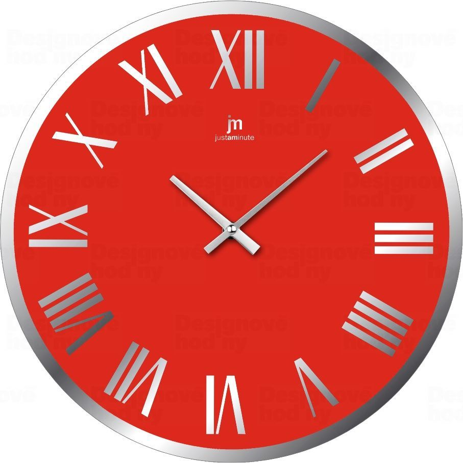Designové nástěnné hodiny 14893R Lowell 38cm 173216 Lowell Italy Hodiny