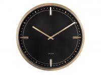 Designové nástěnné hodiny 5727BK Karlsson 42cm 173298