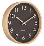 Designové nástěnné hodiny 5851BK Karlsson 22cm 174647